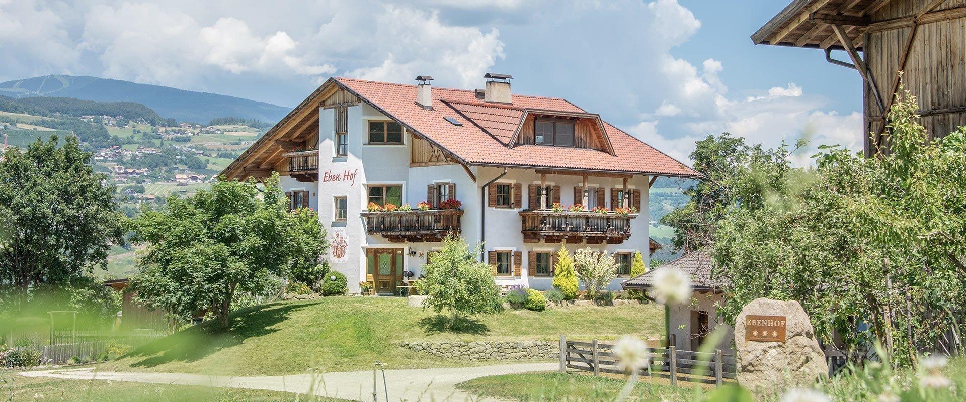 Ebenhof | Urlaub auf dem Bauernhof in Steinegg/Eggetal/Südtirol