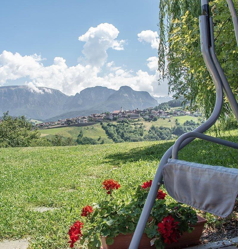 Idyllische Lage in Steinegg im Südtiroler Eggental